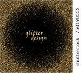 golden confetti sequins. vector ...   Shutterstock .eps vector #750190552