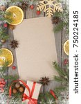 greeting card for the christmas ...   Shutterstock . vector #750224185