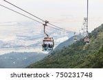 hong kong ngong ping december 5 ... | Shutterstock . vector #750231748
