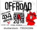 off road event vector poster....   Shutterstock .eps vector #750242386
