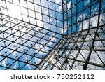 above wide angle view of modern ... | Shutterstock . vector #750252112