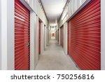 self storage facility | Shutterstock . vector #750256816