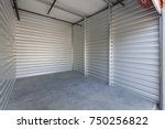self storage facility | Shutterstock . vector #750256822