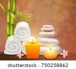 spa realistic design concept... | Shutterstock .eps vector #750258862