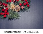 christmas card.    Shutterstock . vector #750268216