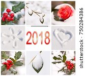2018  Snow And Winter Red And...