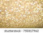 gold abstract christmas... | Shutterstock . vector #750317962