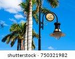 scenic fifth avenue cityscape... | Shutterstock . vector #750321982