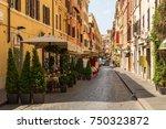 rome  italy   june 26  2013 ... | Shutterstock . vector #750323872