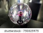 plasma ball   Shutterstock . vector #750325975