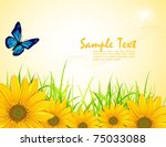 Vector Background With Yellow...