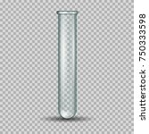 scientific glassware   test tube | Shutterstock .eps vector #750333598