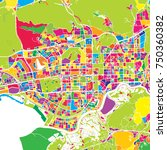 shenzhen  china  colorful... | Shutterstock .eps vector #750360382