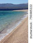golden cape horn beach in... | Shutterstock . vector #750385222