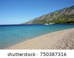 yachts close to golden cape... | Shutterstock . vector #750387316