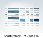 table  schedule  tab  planner ... | Shutterstock .eps vector #750436546