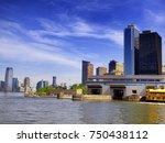 june 10  2017. new york  united ... | Shutterstock . vector #750438112