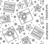 Seamless Pattern In Doodle