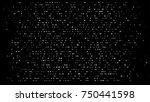 falling snow circle winter... | Shutterstock .eps vector #750441598