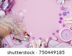 textile doll  different... | Shutterstock . vector #750449185
