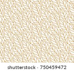 vector illustration of leaves... | Shutterstock .eps vector #750459472
