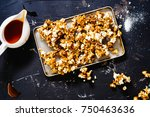 spicy  salty buffalo wing... | Shutterstock . vector #750463636