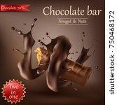 vector realistic sweet... | Shutterstock .eps vector #750468172