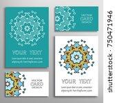 mandala sign symbol  colorful... | Shutterstock .eps vector #750471946