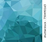 low poly mosaic background.... | Shutterstock .eps vector #750490165
