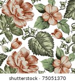 vector. beautiful background... | Shutterstock .eps vector #75051370