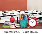 concept of back to school for... | Shutterstock . vector #750548236