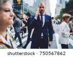 special blurred photo  serious... | Shutterstock . vector #750567862