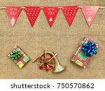the concept of christmas...   Shutterstock . vector #750570862