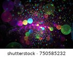Abstract Colorful Glowing...