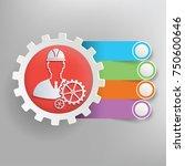 engineer info graphic design... | Shutterstock .eps vector #750600646