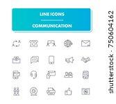 50. line icons set....
