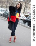 paris january 21  2015. yuwei... | Shutterstock . vector #750620716