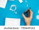 kaunas  lithuania   november 05 ... | Shutterstock . vector #750649162