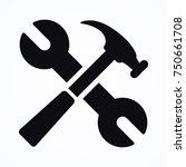 spanner equipment icon | Shutterstock .eps vector #750661708