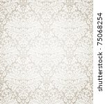 Damask Seamless Floral Pattern...