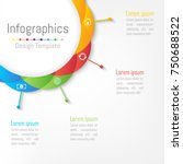 infographic design elements for ... | Shutterstock .eps vector #750688522