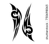 tattoos ideas designs   tribal... | Shutterstock .eps vector #750698065