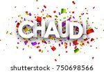 white hot paper background with ... | Shutterstock .eps vector #750698566