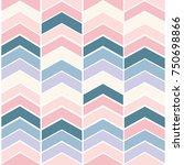 seamless chevron pattern | Shutterstock .eps vector #750698866