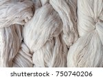 yarn  raw materials for cotton | Shutterstock . vector #750740206