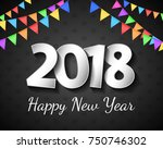 shiny banner with greetings for ... | Shutterstock .eps vector #750746302