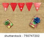 the concept of christmas...   Shutterstock . vector #750747202