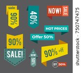 sale now hot price and offer... | Shutterstock .eps vector #750747475