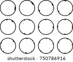 vector frames. circle for image.... | Shutterstock .eps vector #750786916