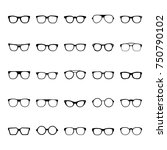 Glasses Icon Vector...